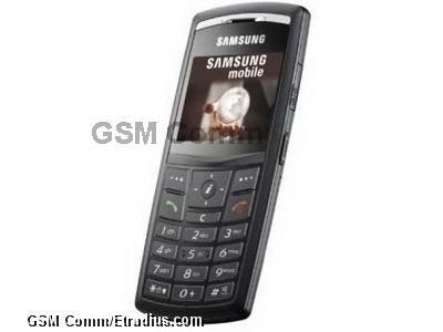 Samsung X820 (black)