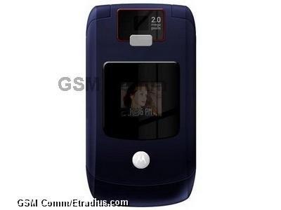 Motorola RAZR V3x (cosmic universe blue)