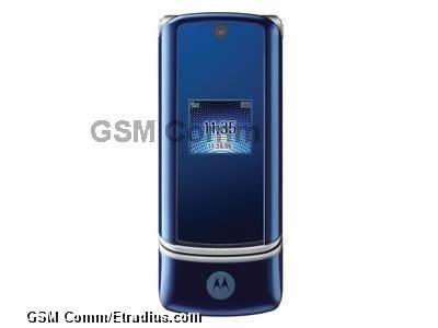 Motorola KRZR K1 (full) (cosmic blue)