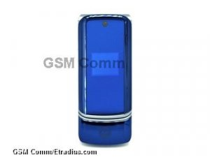 Motorola KRZR K1 (cosmic blue)