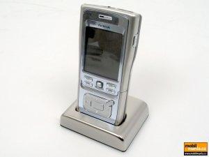 Nokia N91 (l.blue chrome)