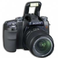 Sony α (alpha) DSLR-A100K (kit) (black)
