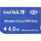 MemoryStick Pro Duo - 4 GB