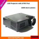 Portable hd led projector 1080p (D9HS)