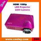 Cheap digital projector support HDMI 1080p (D9H)