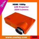 Cheap portable overhead projector support HDMI 1080p (D9H)