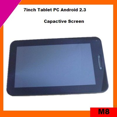 Cheap 7inch capacitive screen tablet pc support flash 10.3 (M8)