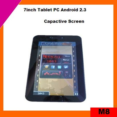 Cheap 7inch mid tablet pc capacitive screen support flash 10.3 (M8)