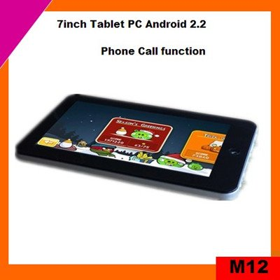 Hot sale 7inch mid tablet pc phone call via 8650 (M12)