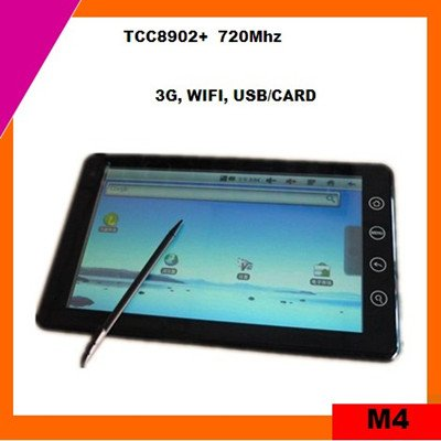 7inch android 2.3 tablet pc mid sale tcc8902 (M4)