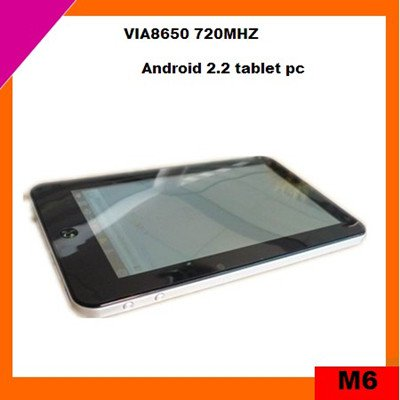 cheap 7 inch multi-touch mid tablet pc android 2.2 (M6)