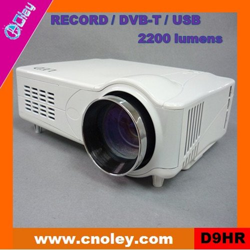 Cheap led home theater projector with DVB-T/USB/Record function (D9HR)