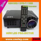 Portable mini led projector with DVB-T/USB/Record function (D9HR)