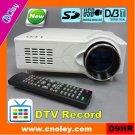 hd led projector with DVB-T/USB/SD (D9HR)