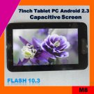7inch capacitive screen tablet pc built in 3g (M8)