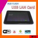 7inch android 2.3 capacitive Tablet PC, 16GB flash, 1.2Ghz (M13)