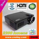hot selling home led projector 1080p with HDMI and tv tuner, without Scart(D9HB)