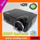 Promotion cheap home projector with HDMI/TV/AV/VGA/S-VIDEO/SCART (D9HB)