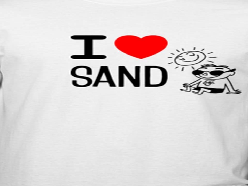I heart sand