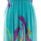 Plus Size Surplice Maxi Dress with Cinch- Teal  1X 2X 3X