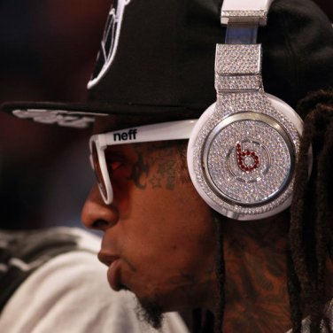 Beats Pro Over Ear Headphones made with  Swarovski Elements