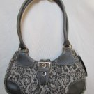 NWT VERY PRETTY MULTI PRINT SHOULDER/HANDBAG WITH BUCKLE BY CANDIES