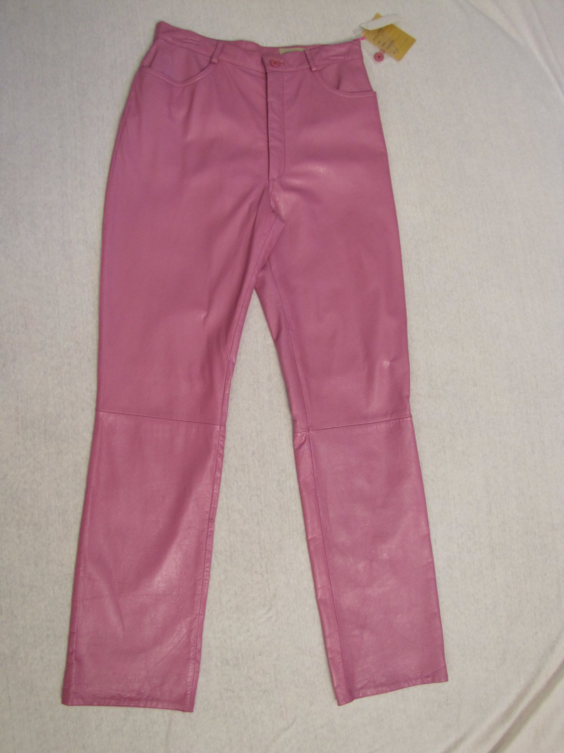 REM GARSON MISSES LAVENDER COLOR LEATHER PANTS SIZE 12