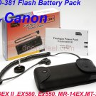 TD-381 Flash Battery Pack for Canon 580EX 580EX II Ex550 MR-14EX MT-24EX