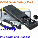 TD-384 Flash Battery Pack for Sony HVL-F58AM HVL-F56AM