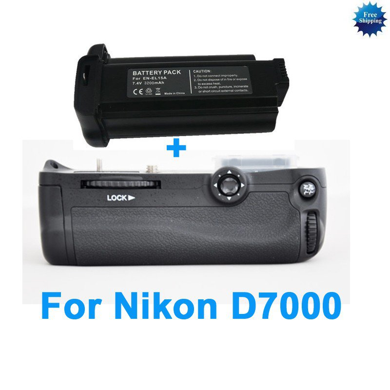 Battery grip For NIKON D7000 MB-D11 + EN-EL15a