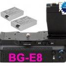 for canon BG-E8 Battery Grip+2 LP-E8