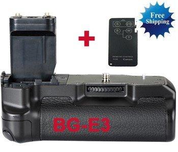Canon BG-E3 Battery Grip Replacement + Remote Control CANON