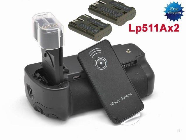 BG-E2N Battery Grip for Canon 50D 40D 30D 20D + 2 X BP-511A