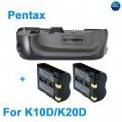 Battery Grip for Pentax K10D K20D as D-BG2 DBG2 + D-LI50