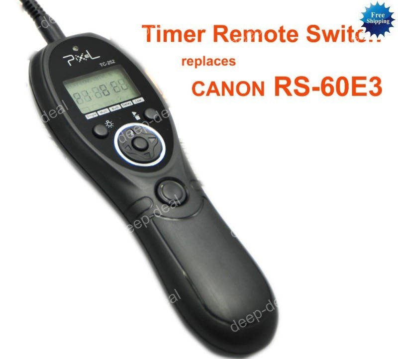 Timer Remote for CANON 60D 550D 500D G12 G11 G10