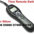 Timer Remote Shutter Release for Nikon D7000 D3100