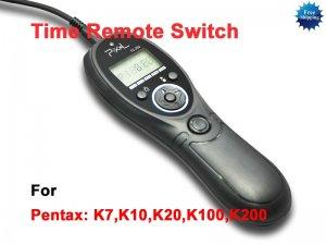 Timer Remote fo PENTAX K-7 K200D K20D K100D K10D