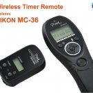 Wireless Timer Remote for Nikon D700 D300S D300 D200 D3