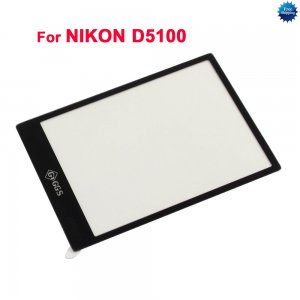 LCD Screen Protector optical glass for NIKON D5100
