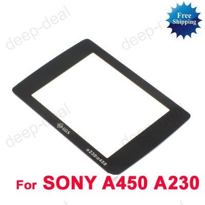 GGS LCD Screen Protector glass for SONY Alpha A450 A230