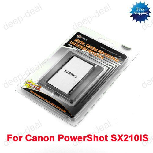 GGS LCD Screen Protector glass for Canon SX210 IS
