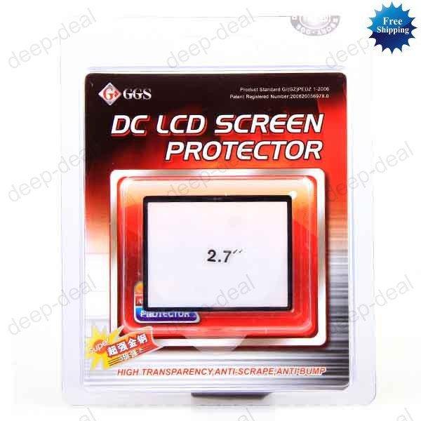 GGS 2.7'' inch hard LCD screen protector optical glass