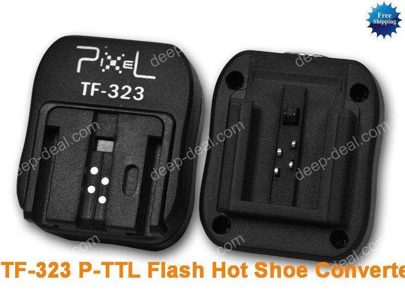 TF-323 SONY & Minolta TTL Hot Shoe to PC Sync Adapter