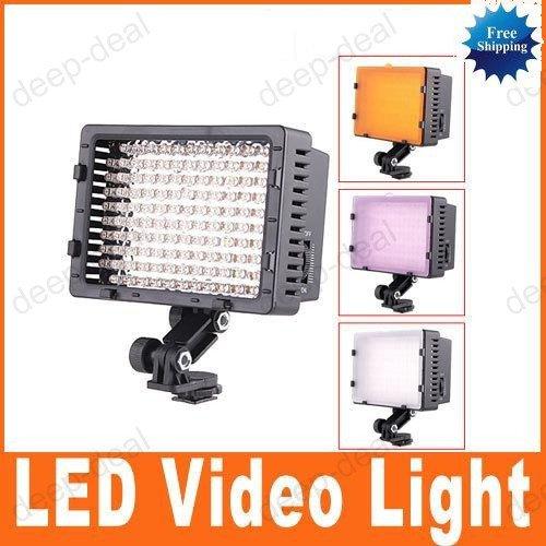 CN 126 LED Video Light For Camera DV Camcorder Lighting