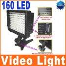 CN-160 LED Video Light Camera Camcorder Lighting
