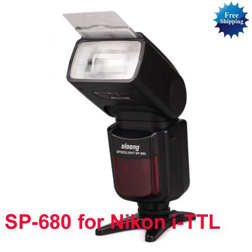 OLOONG Speedlite SP-680 for Nikon i-TTL