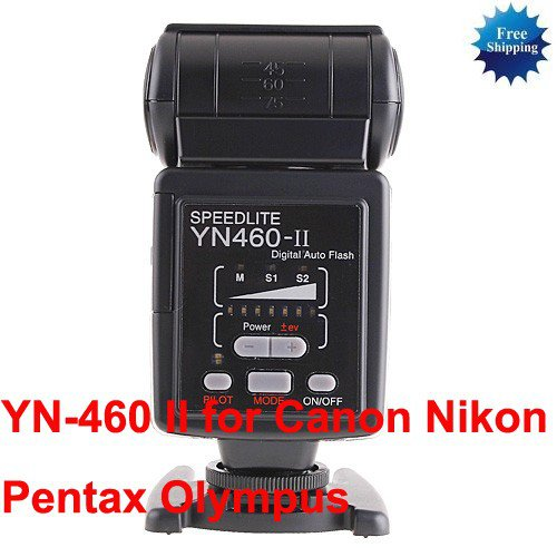 YN-460II Flash Speedlite For Olympus
