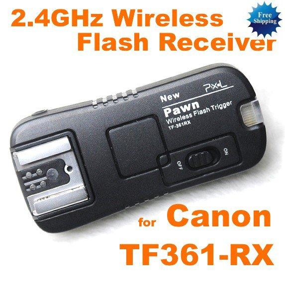 TF-361 Wireless Flash Receiver Canon 7D 5D II 550D 500D