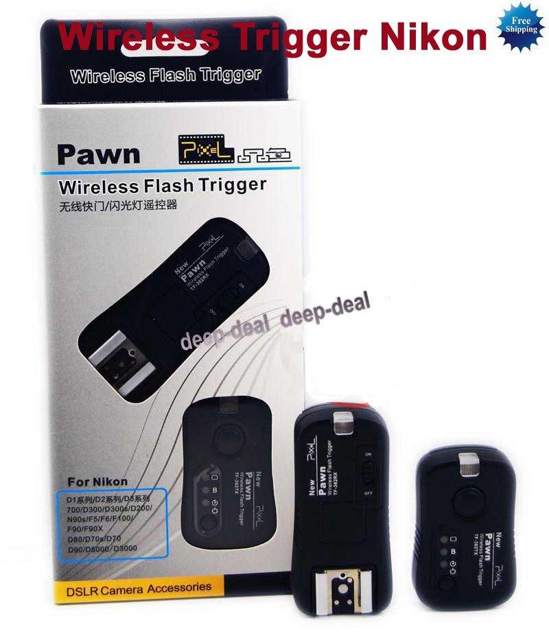 TF-362 Wireless Remote Flashgun Trigger Receiver Nikon