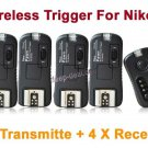 Pixel TF-362 Flash Trigger for nikon with 4 Receivers